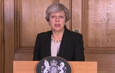 British prime minister announces UK terror threat level raised to critical