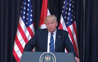 President Trump comments on Manchester terror attack