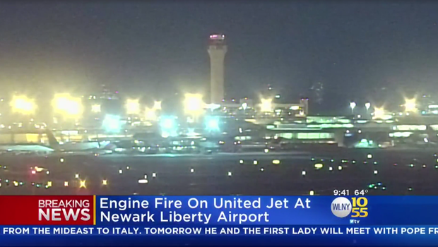 Newark Airport Temporarily Shuts Down After Plane Fire