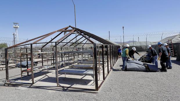 Crews begin dismantling Joe Arpaiou0027s controversial  Tent City  complex in Arizona - CBS News & Crews begin dismantling Joe Arpaiou0027s controversial