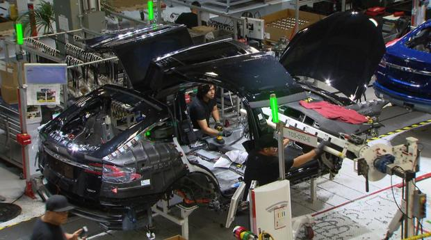 Tesla auto workers' safety in question