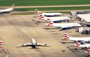 """British Airways cancels flights after """"severe"""" IT outage"""