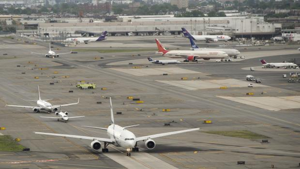 Ewr Airport Logo: All Clear Given At Newark Airport Terminal After