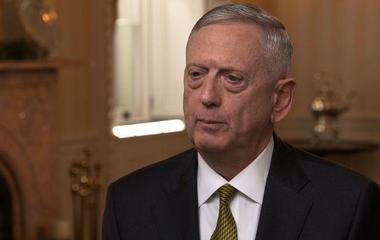 "Sec. James Mattis says U.S. ""accelerating the tempo"" of war on terror"