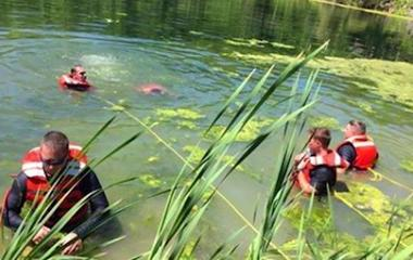 Teen drowns swimming with friends