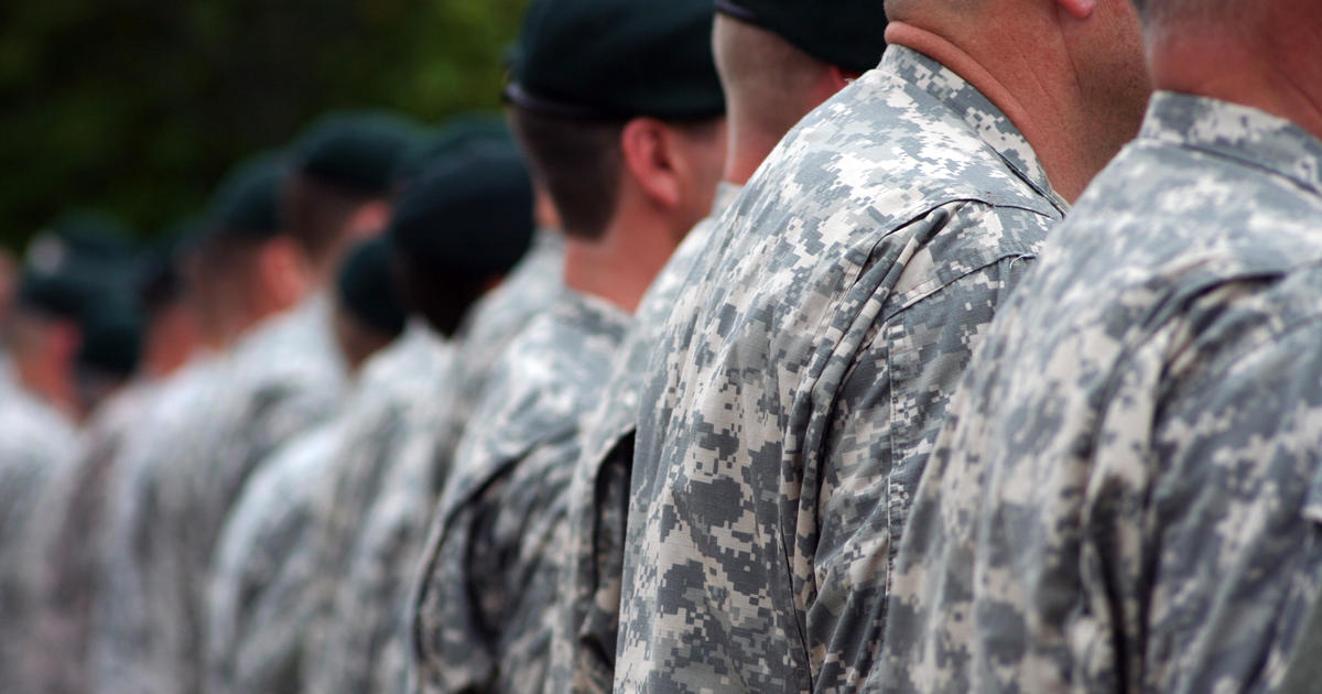 Military report shows steady rise in suicides