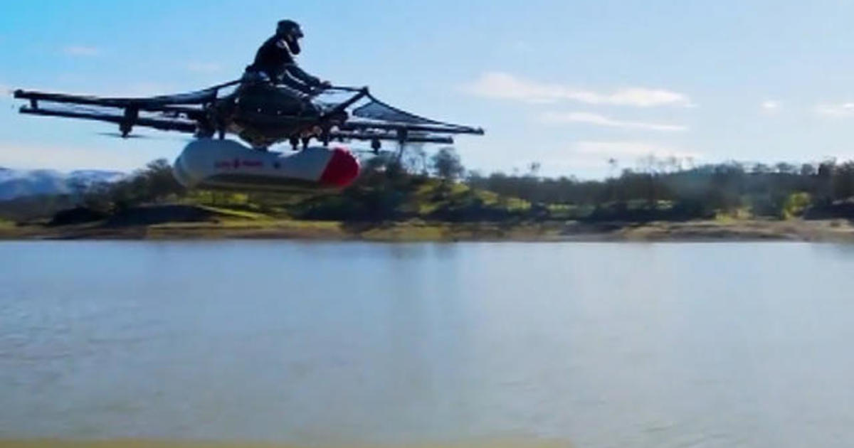 New Video Shows Flying Car Prototype Cbs News
