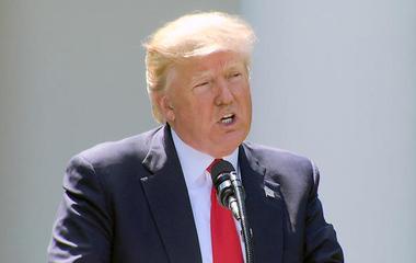 Trump says exiting Paris accord will create jobs