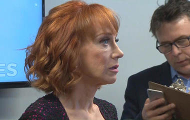 "Kathy Griffin says Trump ""broke me"""