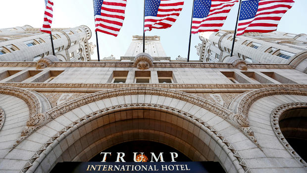 Democratic lawmakers sue over Trump hotel lease secrecy
