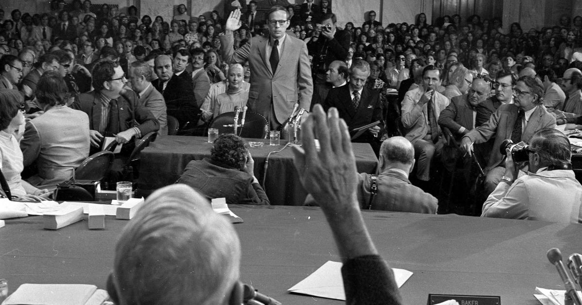 Image result for john dean testifies before the senate watergate committee