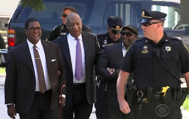 Jury hears Cosby, in deposition, admitting to fondling victim