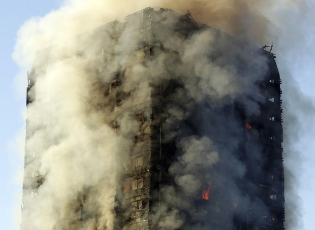 Fire in London high-rise