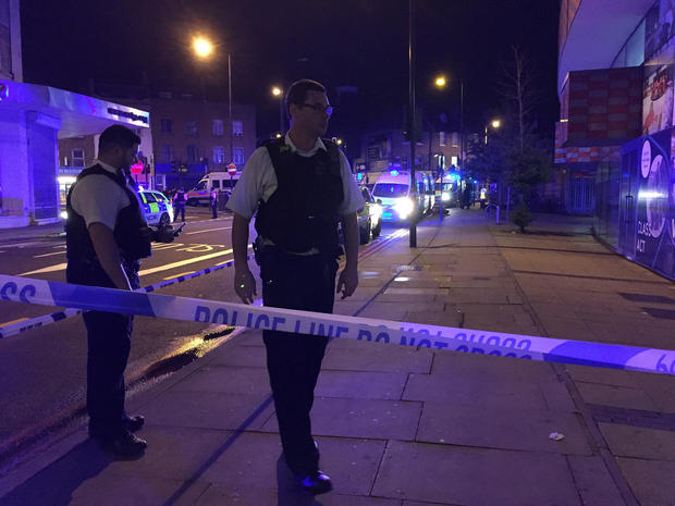 Vehicle strikes people near London mosque, casualties reported