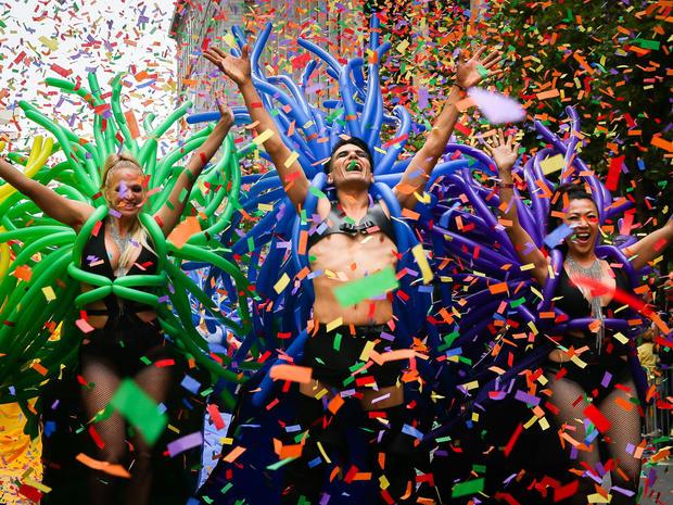 Sf gay pride parade route