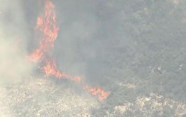 Utah battling major wildfire