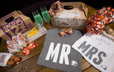 Taco Bell weddings are officially a thing