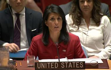 Nikki Haley says U.S. will propose tougher sanctions against North Korea