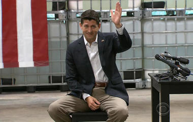Paul Ryan holds employee town hall