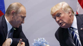 Trump and Putin discuss Russian meddling in 2016 election
