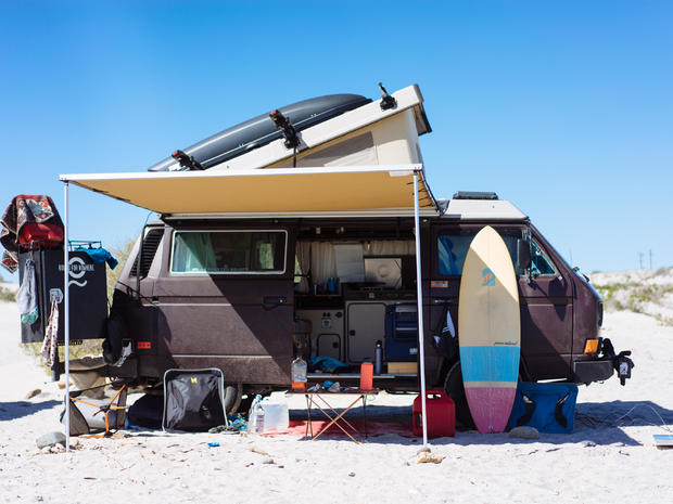 """5 van homes that take """"glamping"""" on the road"""