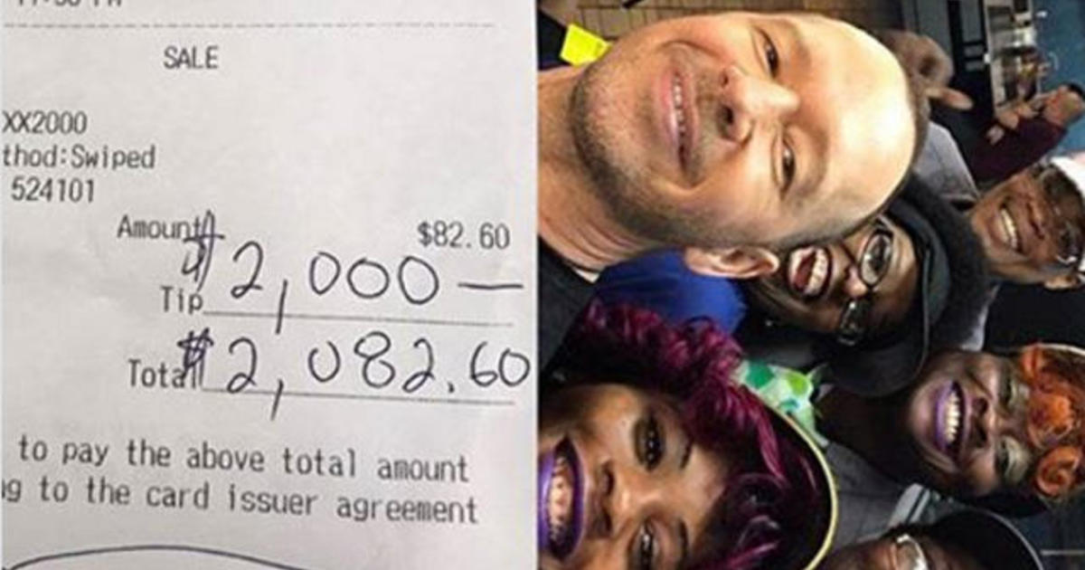 Donnie Wahlberg Leaves Whopping Tip At N C Waffle House