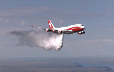 Giant firefighting airtanker grounded by red tape