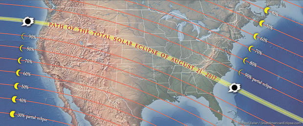Great American Eclipse Excitement Builds For Total Solar Eclipse