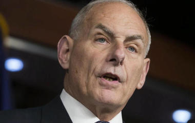 Trump selects John Kelly as new chief of staff