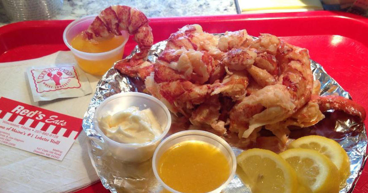 Recipe: Red's Eats Lobster Roll - CBS News