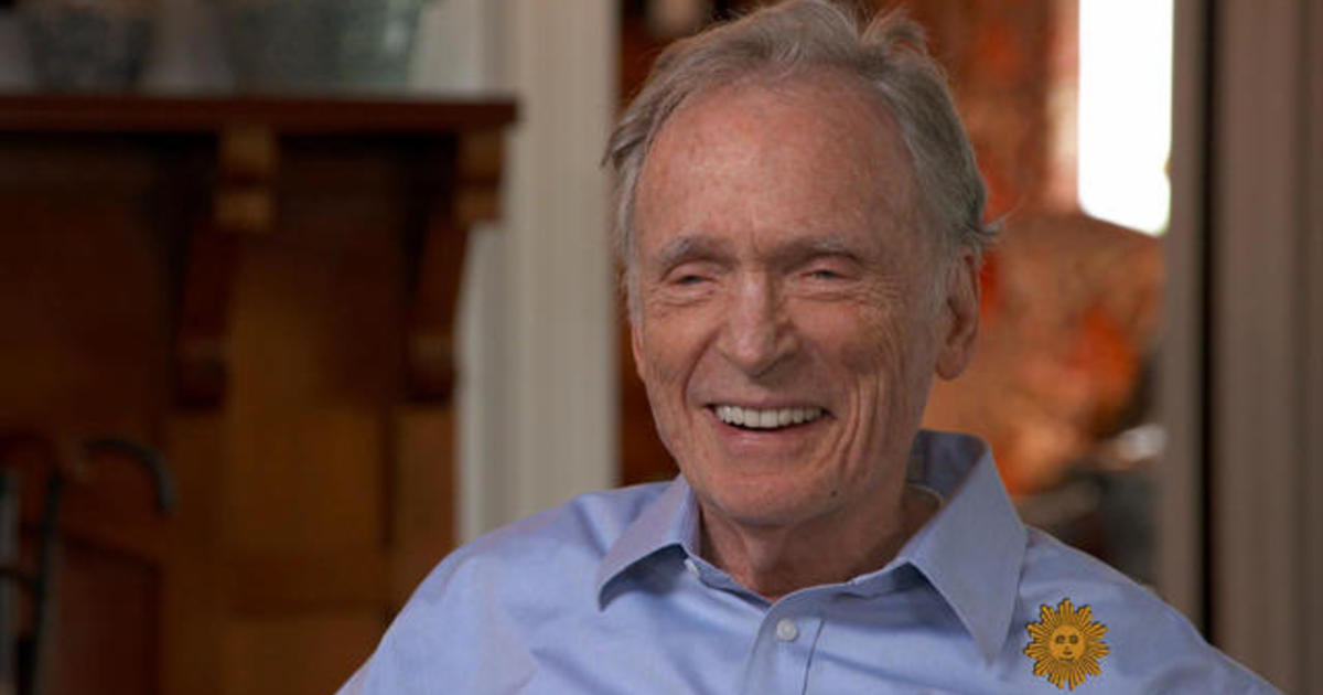 Out of the ashes: Dick Cavett on rebuilding his historic Montauk home - CBS News