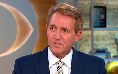 """Sen. Jeff Flake on GOP issues and """"crisis of principle"""""""