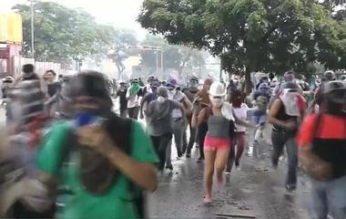 Protesters say election hurtles Venezuela toward dictatorship