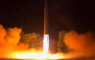 North Korea's ICBM gets dangerously close to passenger jet's path