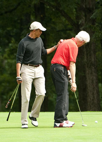 Presidents on the links