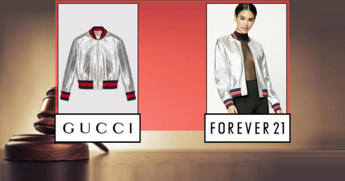Gucci Sues Forever 21 For Trademark Infringement Cbs News