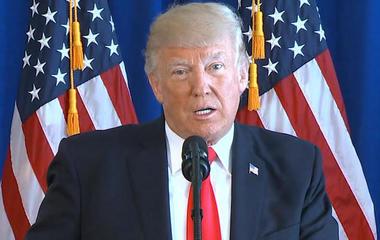 President Trump addresses violence in Va.