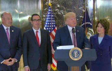 "President Trump blames ""both sides"" when addressing Charlottesville violence"