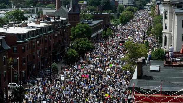 Rallies across U.S. protest white supremacists