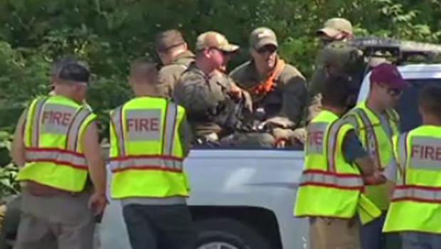Search and rescuers gather in Zoar Valley in western New York State