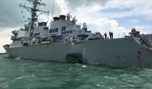 Navy divers find remains of some sailors after USS John S. McCain collision