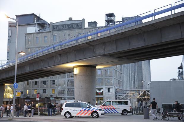NETHERLANDS-POLICE-MUSIC