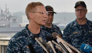 Commander of Navy's 7th Fleet relieved of duty after deadly collisions