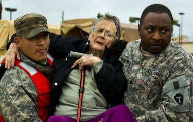 How the Red Cross is helping Harvey victims