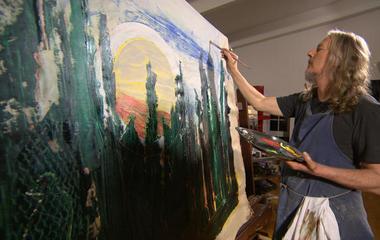 "Art forger's secret: ""Channeling"" dead artists"