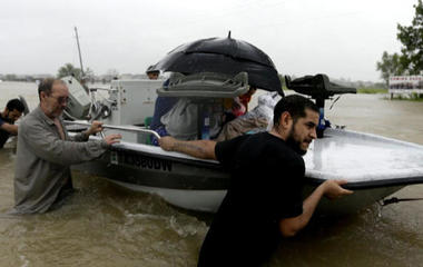 Thousands rescued as rainfall continues in Texas