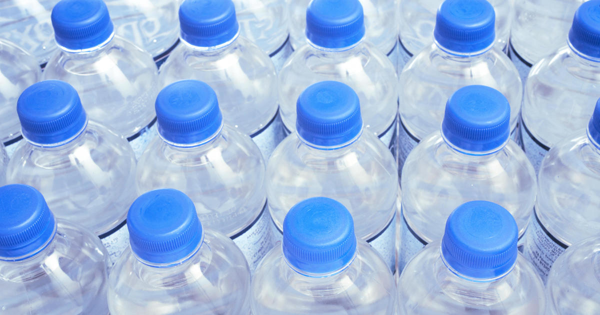 Does Your Bottled Water Contain Plastic Cbs News