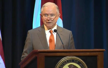 "Sessions welcomes restoration of asset forfeiture: ""I love that program"""
