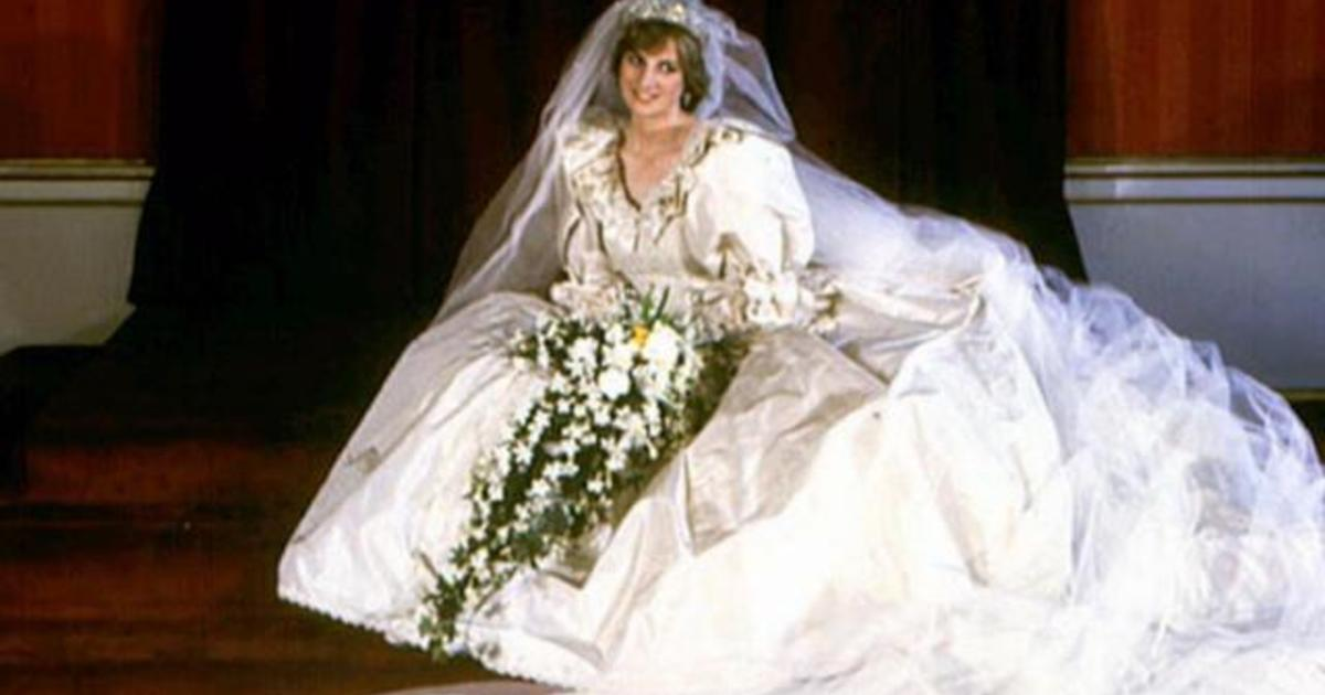 Wedding dress designer David Emmanuel remembers Princess Diana - CBS ...