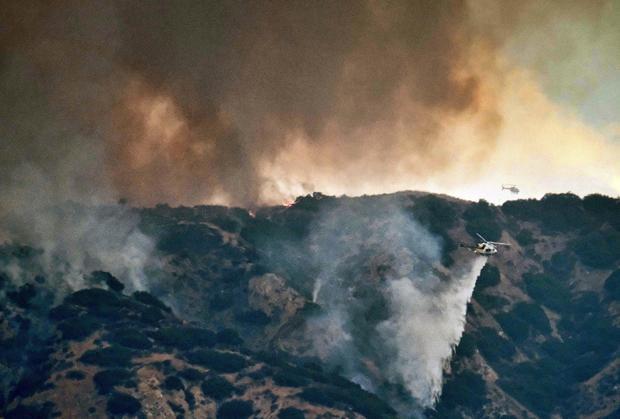 LA Brush Fire